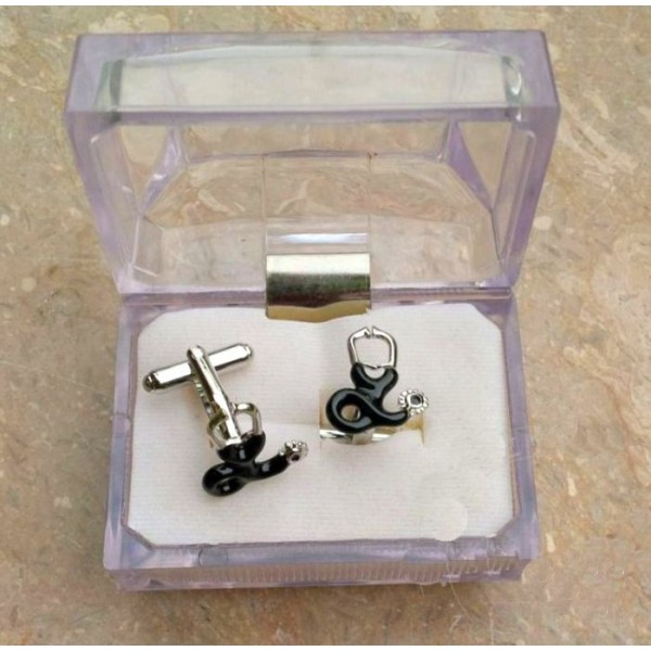 Stethoscope Cuff-link for Doctors and Medical Professionals