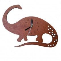 Dinosaur Wall Clock for Kids Room