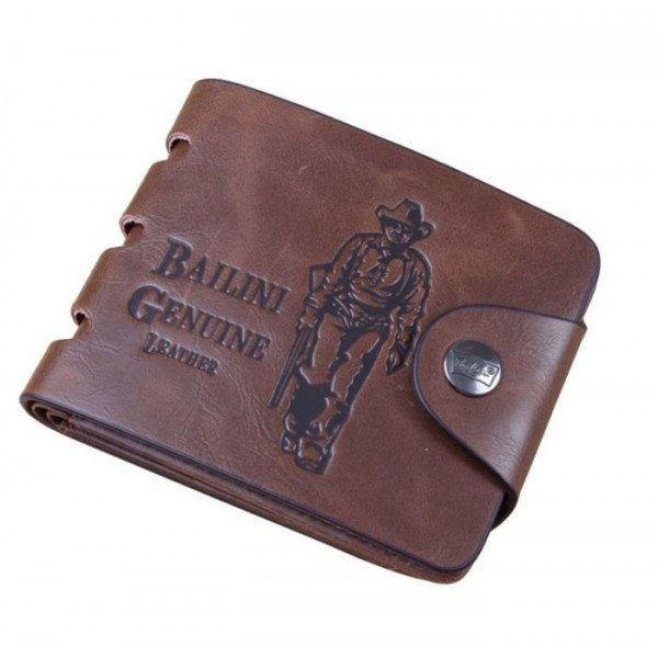 Men's Leather Bifold Classic Wallet