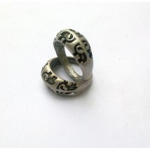 Antique Silver Ring - Elephant, Size-10