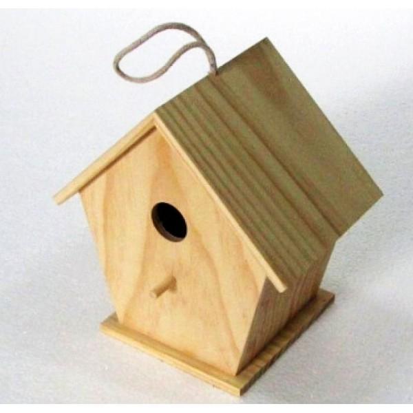 Wooden Birdhouse for Home and Garden Decor