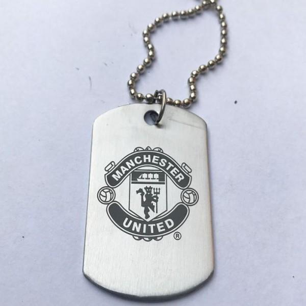 Manchester United Football Club Logo Tag Pendant