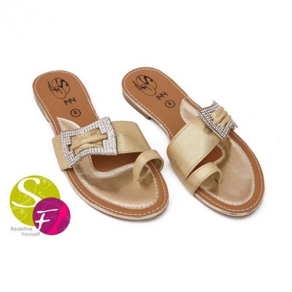 Classic Golden Slippers