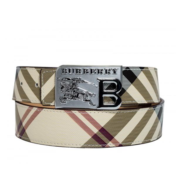 Branded Reversible Check Belt for Men  MBBB-02
