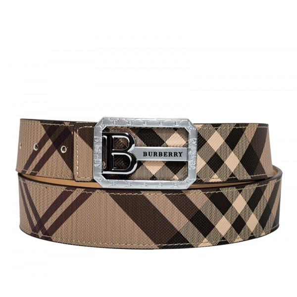 Branded Reversible Check Belt for Men MBBB-01