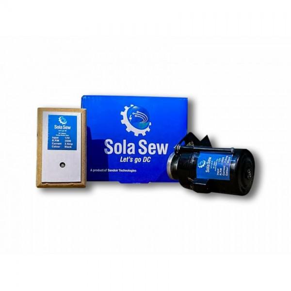 SolaSew (SS01) - Solar Motor-starter kit