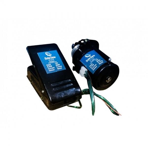 SolaSew -SS02 Solar Motor-starter kit  -12 Volt