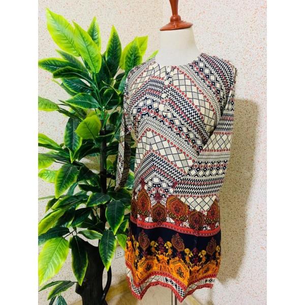 Lawn Kurti Stitched for women