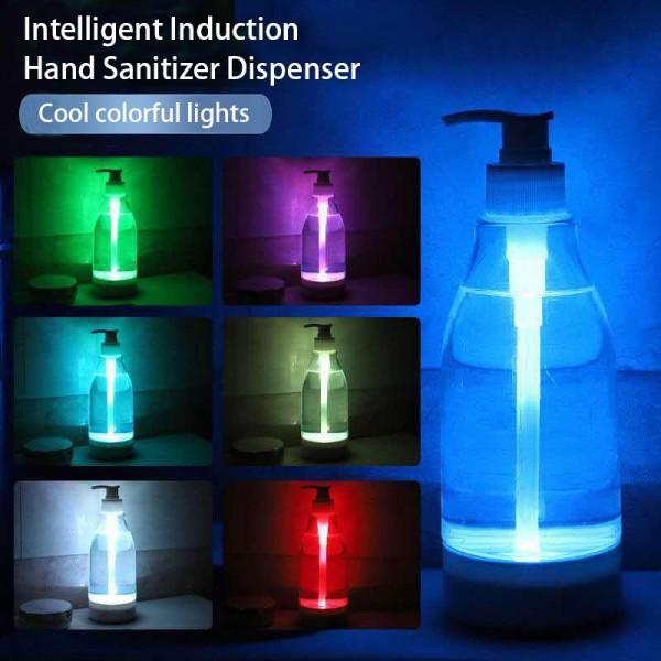 Brite LED Colorful Liquid Soap Dispenser Glowing Soap Bottle Hand Sanitizer Sensor Light