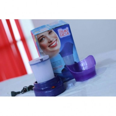 Steamer For Blocked Nose And Facial Usage