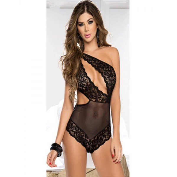 Black Lace Sexy Teddy Lingerie
