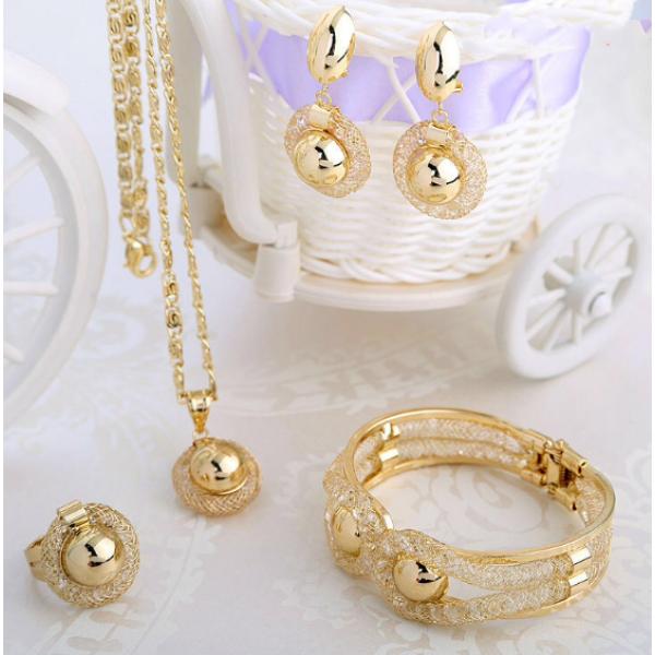 Western rain gold plated jewelry - Buyon.pk