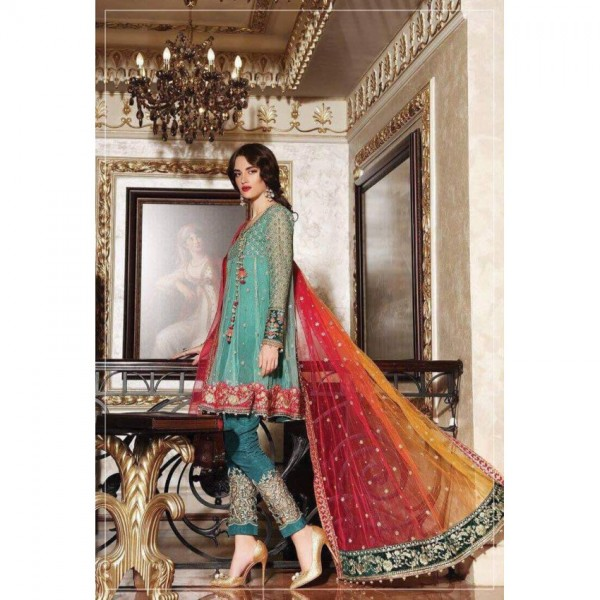Embroidered Unstitched Suit for Women