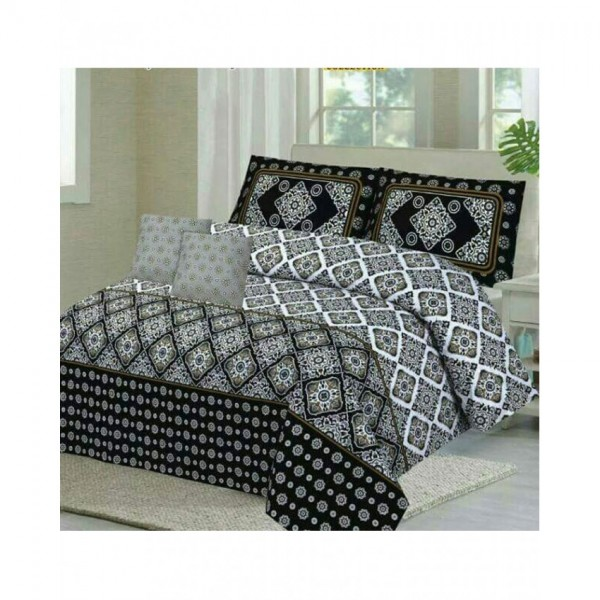 Floral Cotton Printed Bed Sheet Sets CC-371