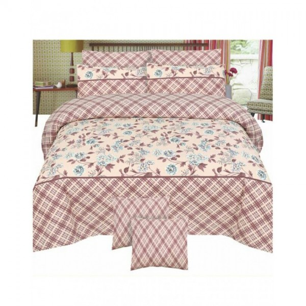 Floral Cotton Printed Bed Sheet Sets CC-376
