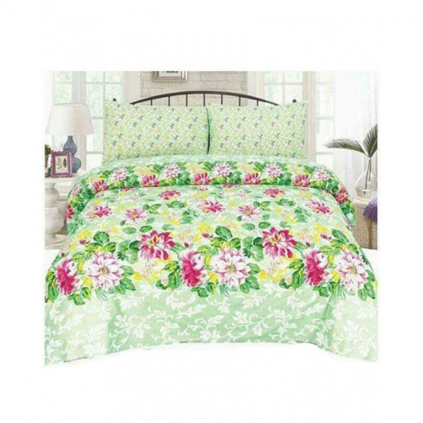 Floral Cotton Printed Bed Sheet Sets CC-379