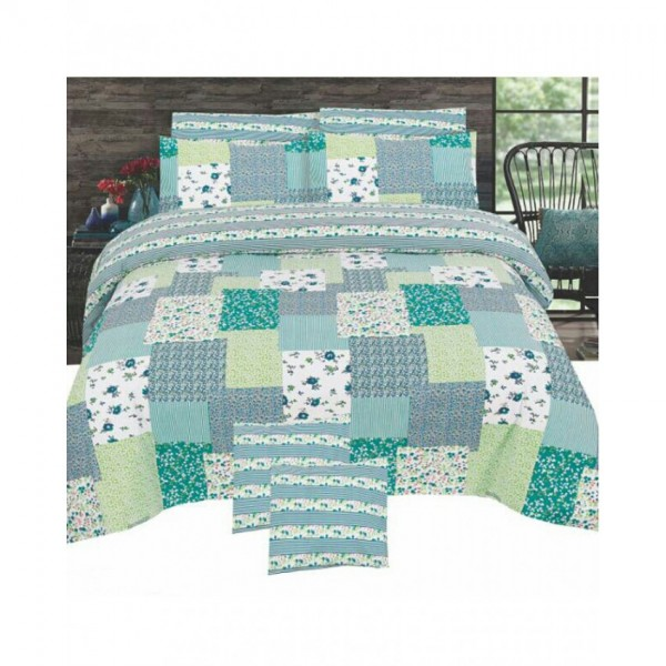 Floral Cotton Printed Bed Sheet Sets CC-380