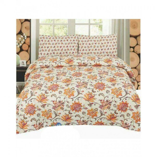 Floral Cotton Printed Bed Sheet Sets CC-383