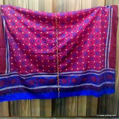 Sindhi Ajrak & Topi Day Special Pure Cotton Ajrak SA-02
