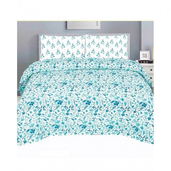 Floral Cotton Printed Bed Sheet Sets CC-389