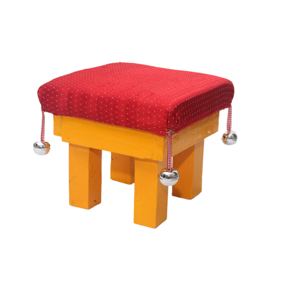Childrens Wooden Chair with Cushion