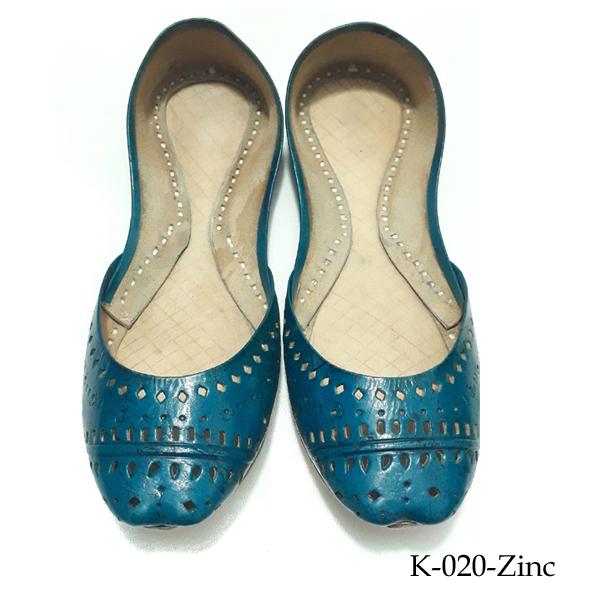 Leather Khussa for women K-020