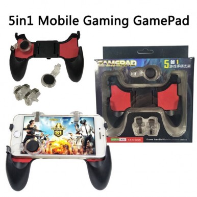 PUBG Gamepad 5in1 for Android and IOS
