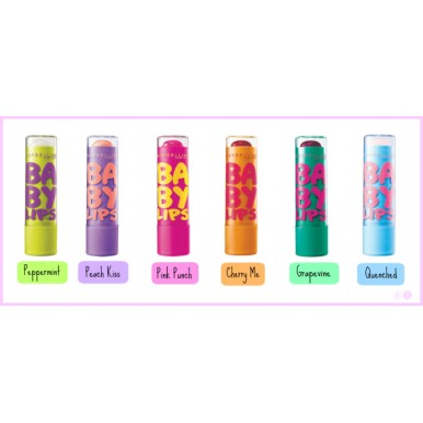 Baby Lips Lipstick - 6 Different Colors in Pack
