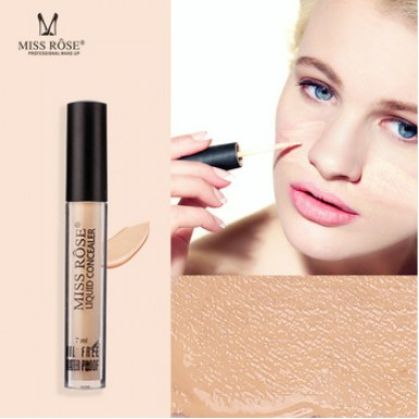 Miss Rose Liquid Concealer Oil Free and Water Proof  For Girls - Beige 6