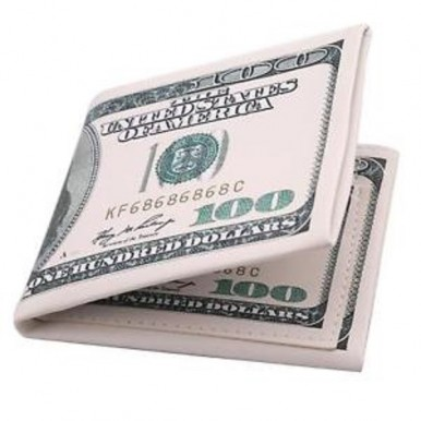 American Dollarr 100USD Printed on Wallet for Men - 1 Wallet