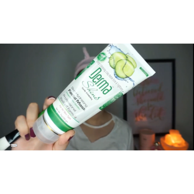 Derma Shine Skin Hydrating Facial Mask Cucumber for Girls - 200 gm