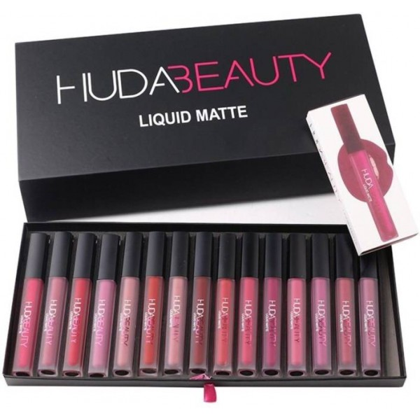 Pack of 3 Matte Lipgloss for Girls-Different Shades