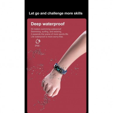 M3 Intelligence Health Bracelet track your Day and Night