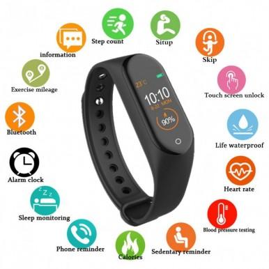 M4 Smart Bracelet for Monitor your Health