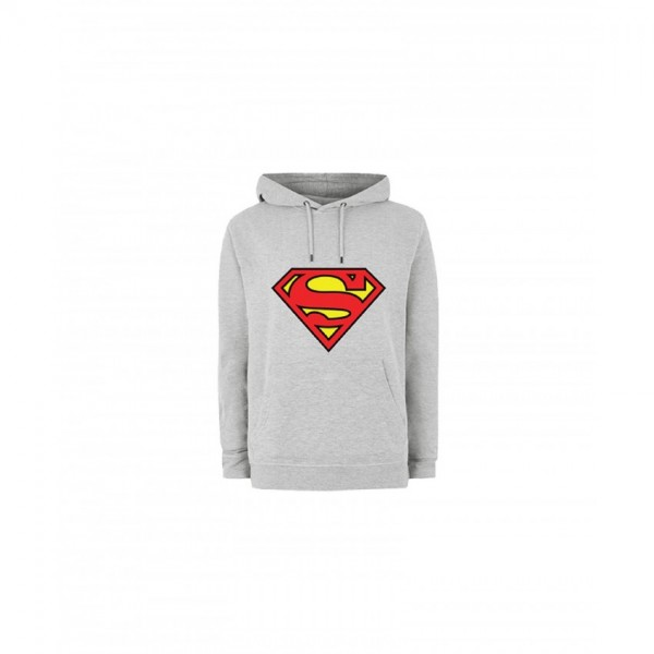 stylish Superman Hoodie in Grey Color