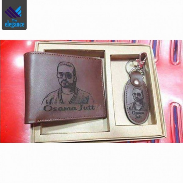 Customized Picture Wallet and Keychain Box