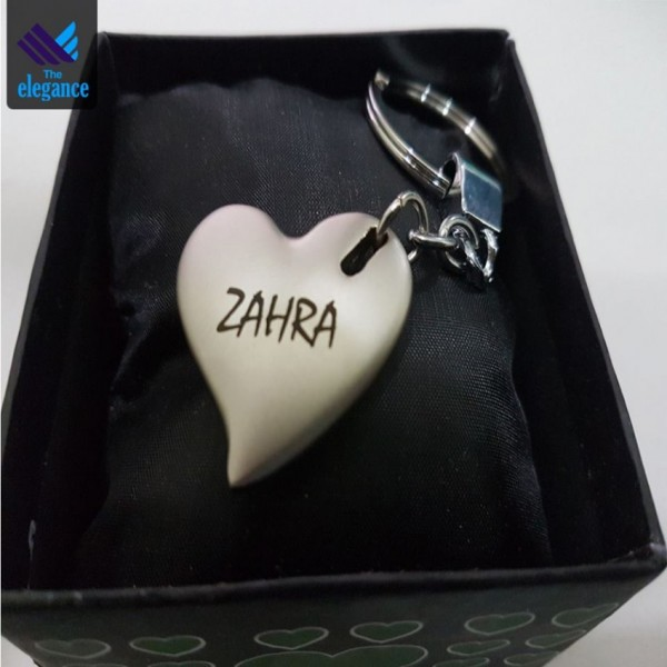 Customized Steel Keychain with Name
