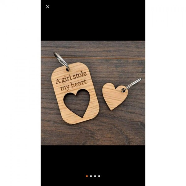 Piece of Heart Key-chain - Love Gift for Special Ones