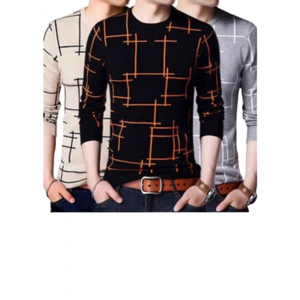 Pack of 3 HD Lining Boxes T-shirt for Men