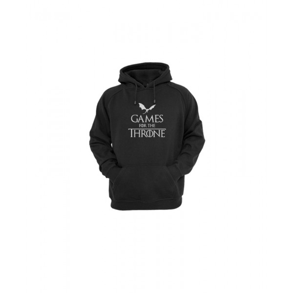 stylish Game of Throne Hoodie in Black Color
