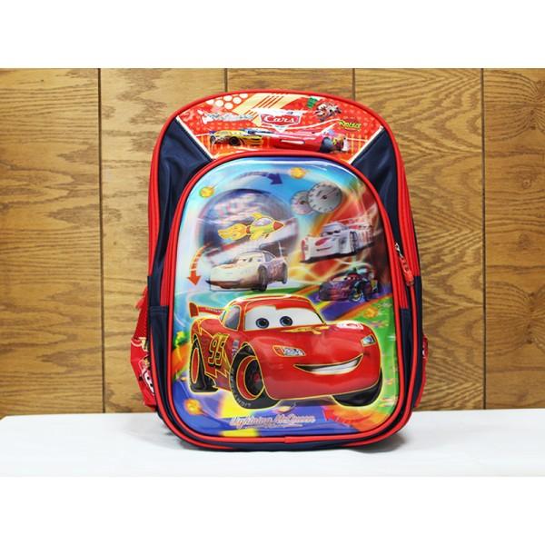 3D Racing Car School Bag