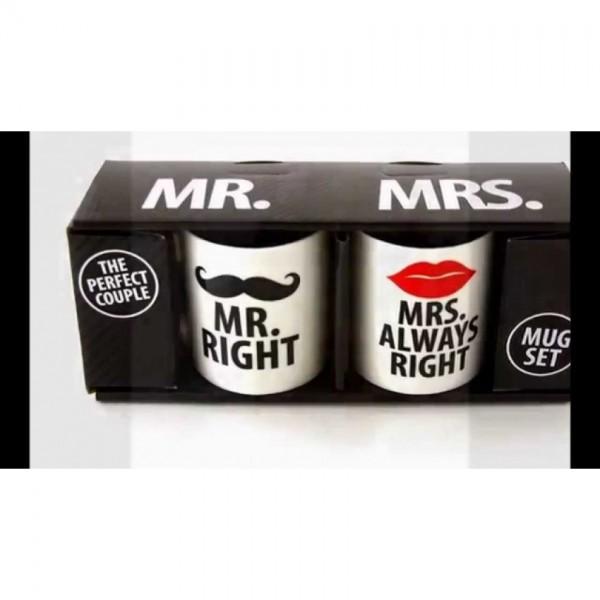 Mug Set the Perfect Couple Gift