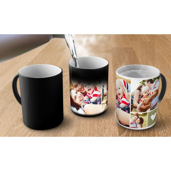 Customized Magic Mug with a picture