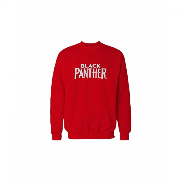 Trendy Panther Sweatshirt in Red Color