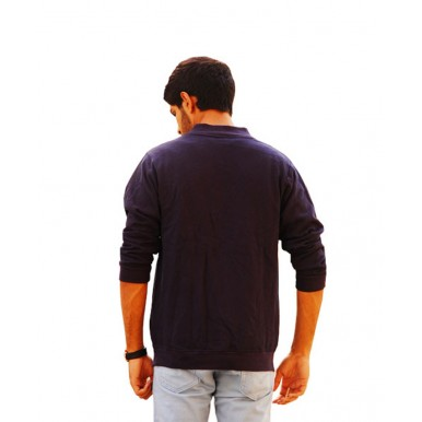 stylish Bomber Jacket for Boys in Navy Blue Color