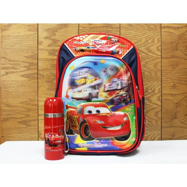 3-D School Bag and Bottle