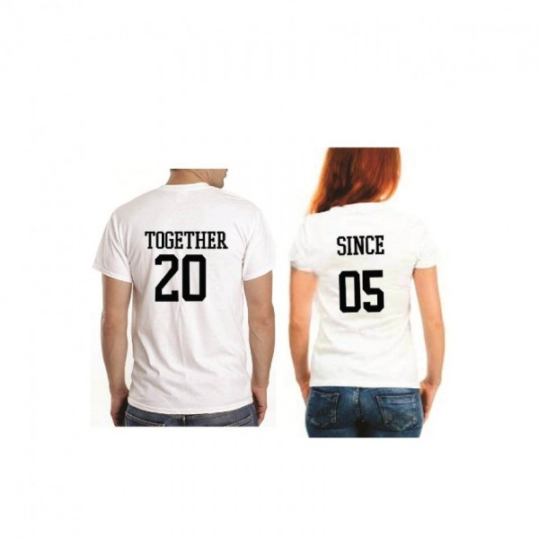 Couple T shirt Pack of 2