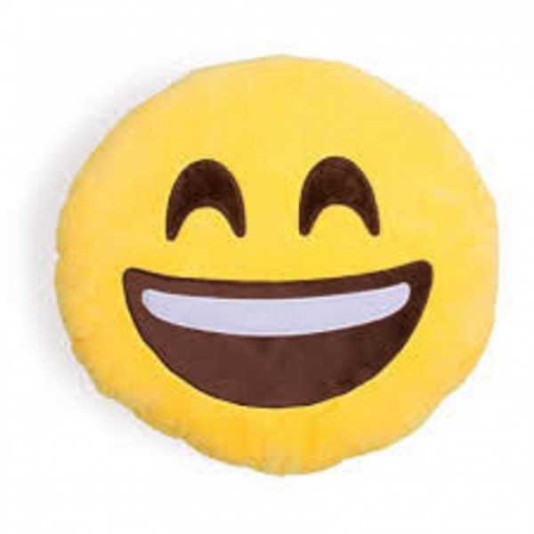 Laughing Pillow in yellow color