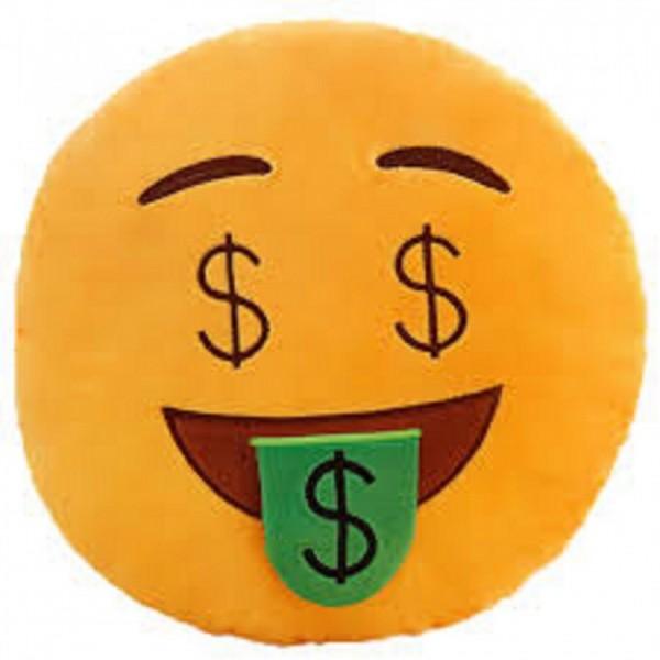 Money Face Pillow