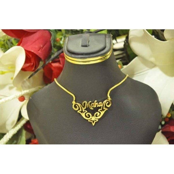 Customized Gold Name Necklace 0303